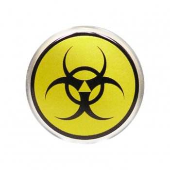 Center cap biohazard