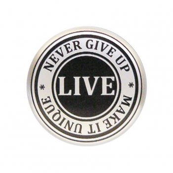 Center cap live button
